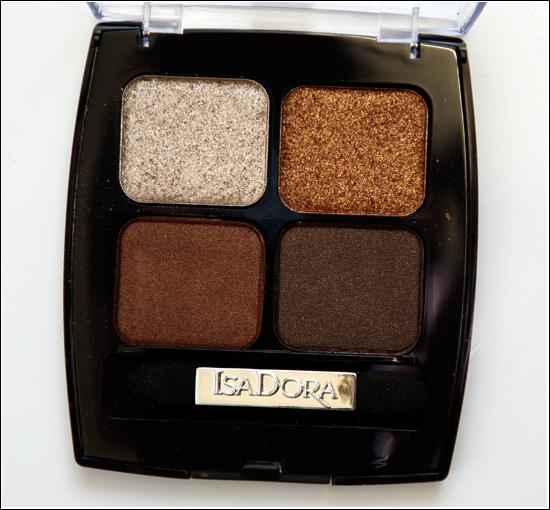 IsaDora Brown Patina 63 Eye Shadow Quartet