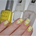 Viva la Diva 51 Yellow Nailpolish IsaDora Graffiti Nails