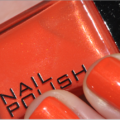 H&M Orange Nail Polish