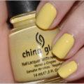 China Glaze Lemon Fizz Up & Away Collection