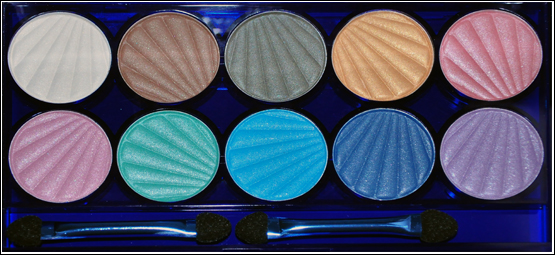H&M Vanity Fair Eyeshadows