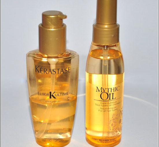 L'Oreal Professionnel Mythic Oil vs Kérastase Elixir Ultime Recension