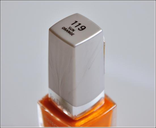 NOTD IsaDora 119 Sun Orange
