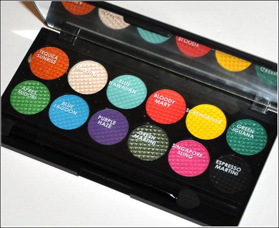 Sleek Makeup Curacao Caribbean Collection i-Divine Eye Shadow Palette