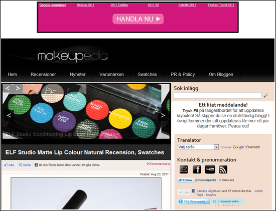 Makeupedia Screenshot