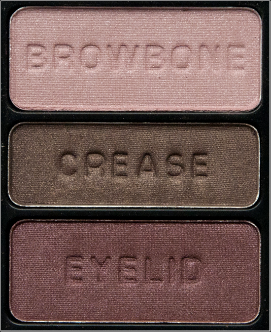 Wet'n'Wild Color Icon Eyeshadow Trio Knock On Wood