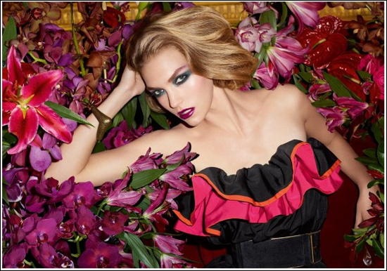 YSL Jardin de Minuit Makeup Collection Fall 2011