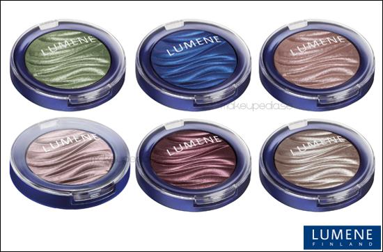 Lumene Trend Collection Blueberry Long Wear Crystal Eyeshadow