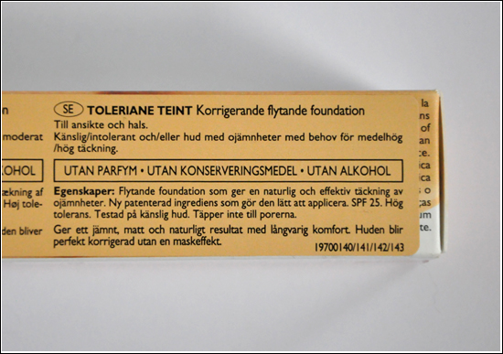 La Roche-Posay Toleriane Teint Fluid Corrective Foundation Spf 25 (11 Beige Clair, Light Beige)