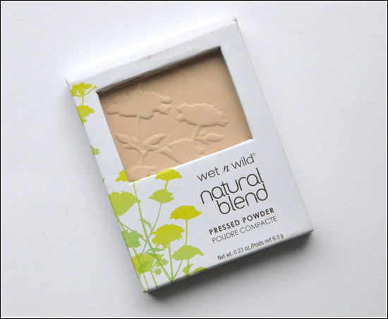 Wet'n'Wild Natural Blend Pressed Powder Natural (E821A)