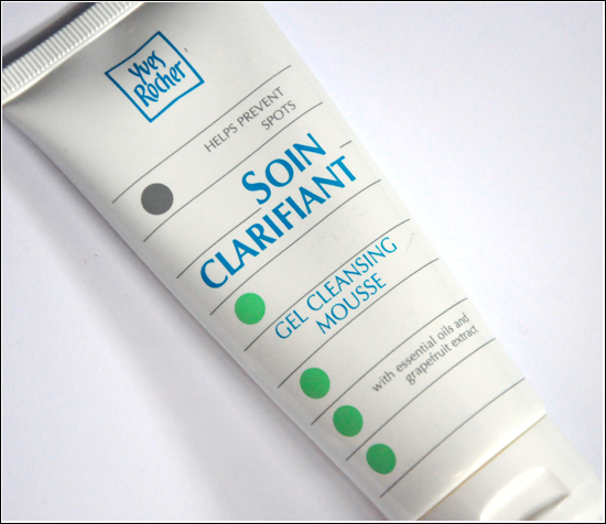 Yves Rocher Soin Clarifiant Gel Cleansing Mousse