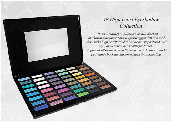 48 High Pearl Eyeshadow Collection