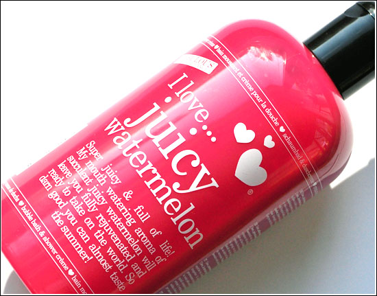 I love... juicy watermelon Bubble Bath & Shower Créme