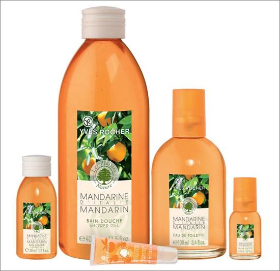Nyhet Yves Rocher Plaisirs Nature Mandarin Limited Edition