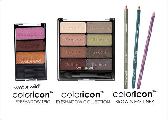 Nyheter Wet´n´Wild Coloricon Eyeshadow Trio, Eyeshadow Collection, Brow & Eye Liner