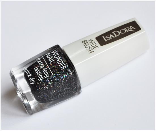 IsaDora Red Rush Wonder Nail Black Galaxy 728