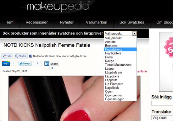 Välkommen till Makeupedia 2.0!