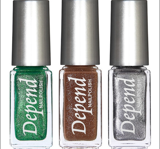 Depend Sparkling Colours Minilack Holiday 2011