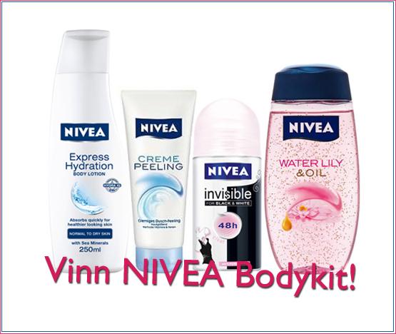 Vinn bodykit från NIVEA! (värde 180 kr)