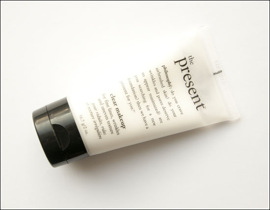 philosophy The Present Clear Makeup Recension & Bilder