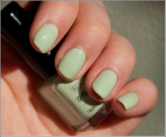 KICKS Nail Polish Mint Gelato