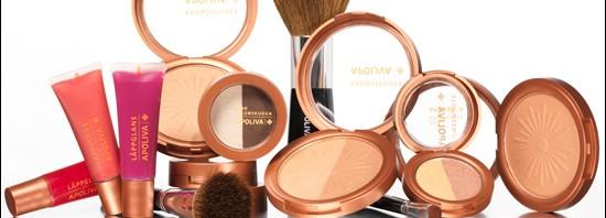 Apoteket Apoliva Makeup Bronzepuder, Ögonskugga och Läppglans