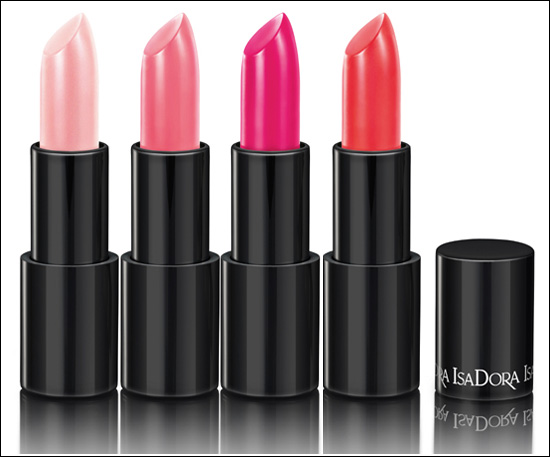 IsaDora Jelly Kiss Shine Lipsticks