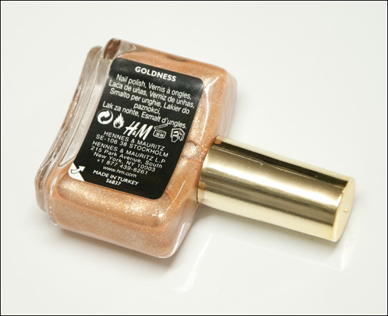 H&M Goldness Nail Polish