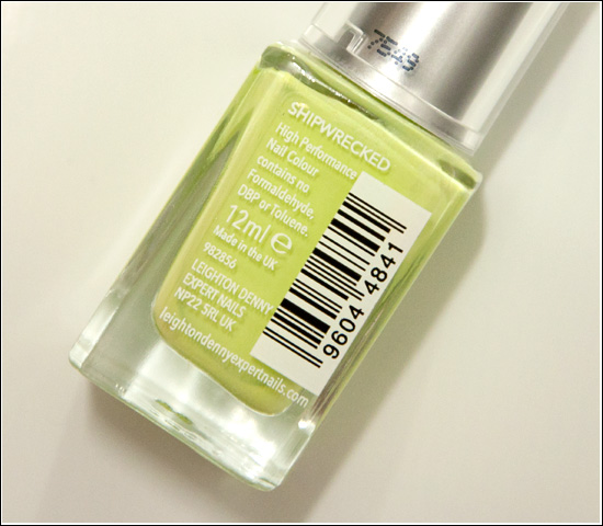 Leighton Denny Shipwrecked