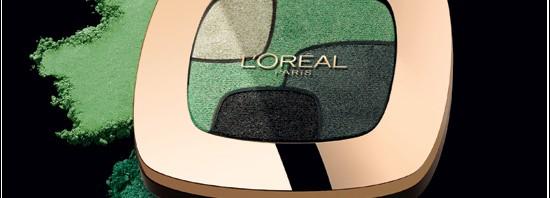 L'Oréal Paris Color Riche Quads Ögonskuggor P3 Emerald
