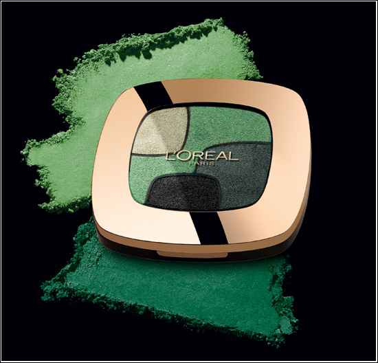 L'Oréal Paris Color Riche Quads Ögonskuggor P3 Emerald Conquest