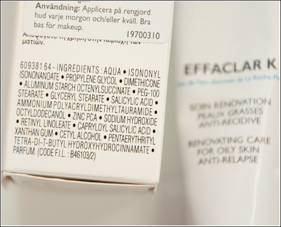 effaclar-k-ingredients