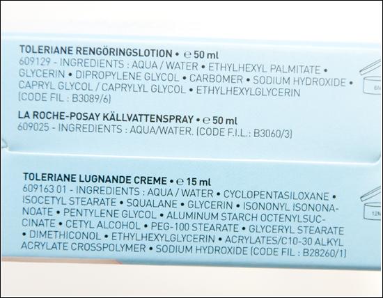 La Roche-Posay Effaclar, Cicaplast, Toleriane
