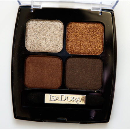 IsaDora Brown Patina 63 Eye Shadow Quartet