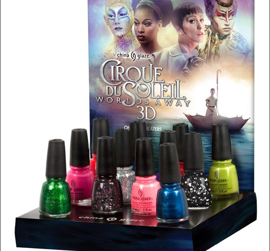 China Glaze Cirque Du Soleil Worlds Away Collection