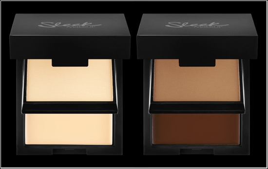 Sleek MakeUp Base Duo Kit Foundation & Setting Powder