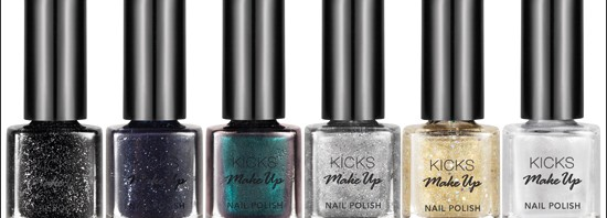 KICKS Nail Polish Christmas Collection 2012