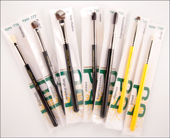 Bdellium Tools Maestro & Studio Eye Brushes