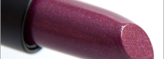 Make Up Store Sparkling Lipstick Black Currant