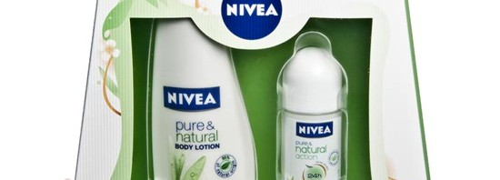 Vinn NIVEA Pure & Natural Body Care