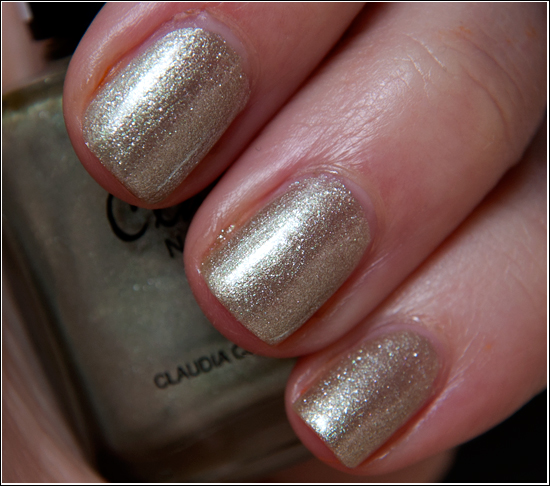 Claudia Metallic Spice Nail Polish