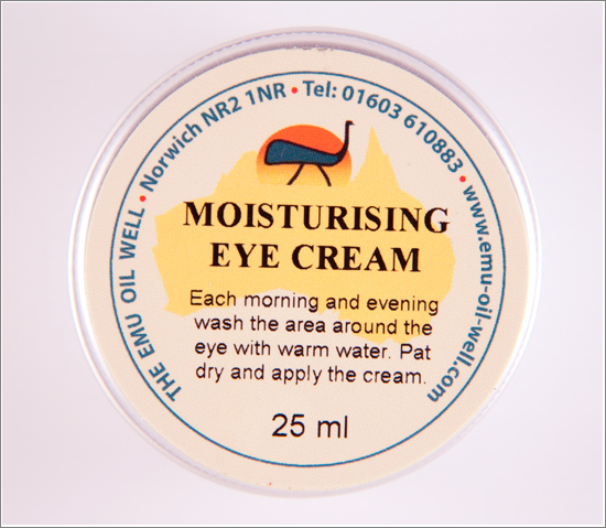 Moisturizing Eye Cream Emu Oil