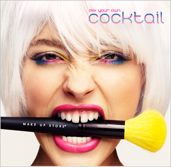 Cocktail Make Up Store Look