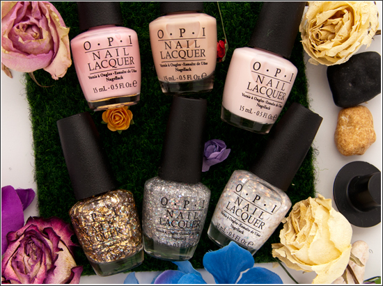 O.P.I Oz The Great and powerful Soft Shades Collection