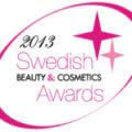 Swedish Beauty & Cosmetics Awards 2013