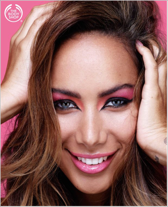 The Body Shop Leona Lewis Limited Edition Collection 2013