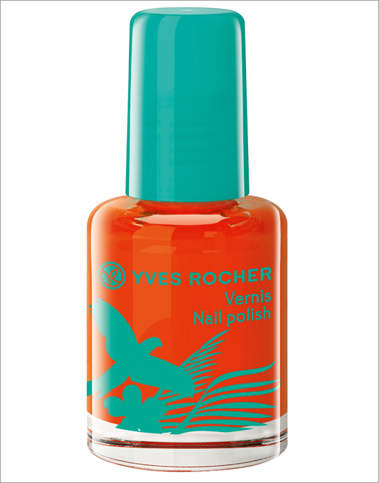 Yves Rocher Retropical Hibiscus Rouge Nail Polish