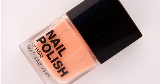 H&M Peachy Girl Nail Polish