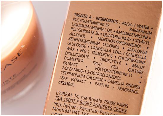 Kérastase Initialiste Ingredients