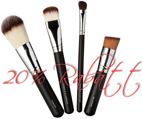 20% rabatt på KICKS Professional Brushes